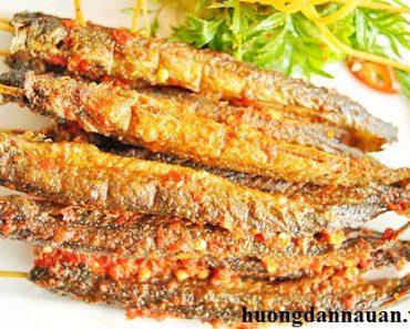 Cách làm cá kèo nướng muối ớt cay ngon ấm lòng ngày đông giá rét