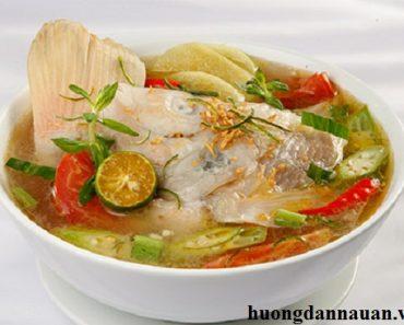Cách nấu canh chua cá diêu hồng ngon kiểu miền Nam
