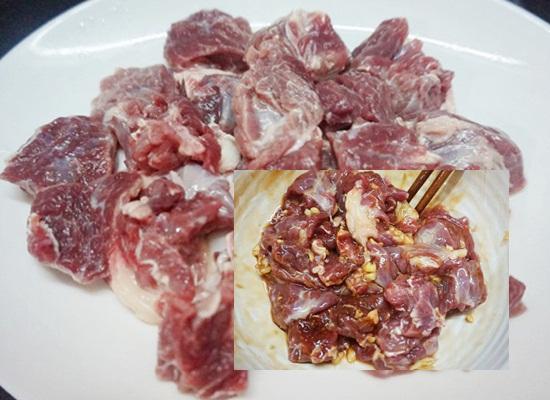 Cách làm bò kho củ cải hình 3