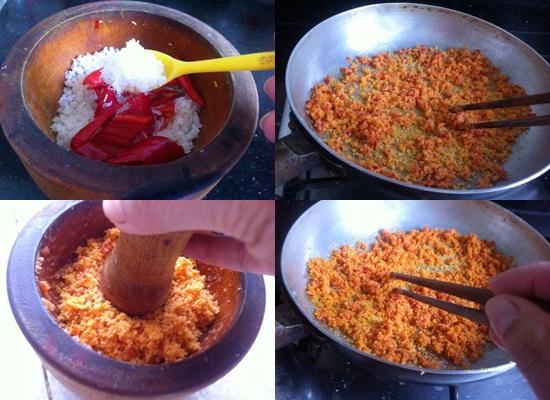 Cách làm muối ớt hột rang hình 3
