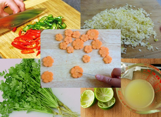 Cách làm nước chấm bánh gối hình 2