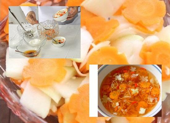 Cách làm nước chấm bánh gối hình 3