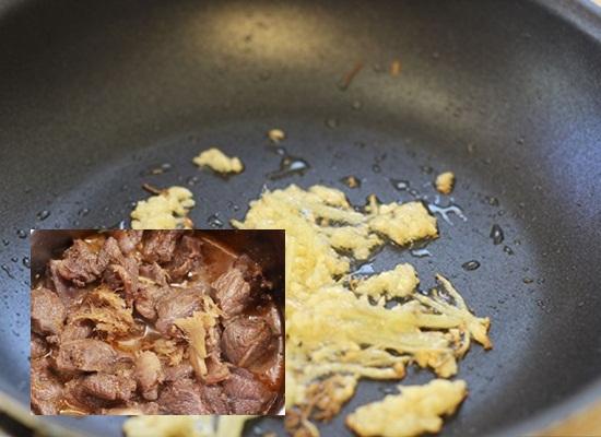 Cách nấu bò kho gừng hình 4