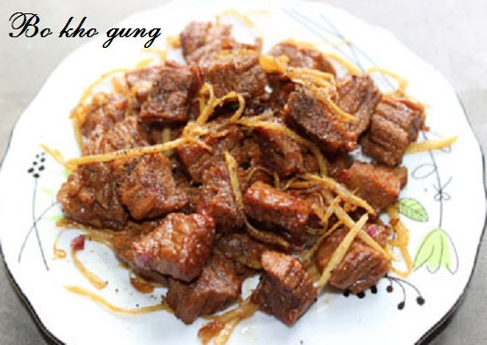 Cách nấu bò kho gừng hình 5