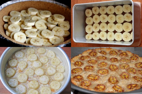 Cách làm bánh chuối nướng hình 4