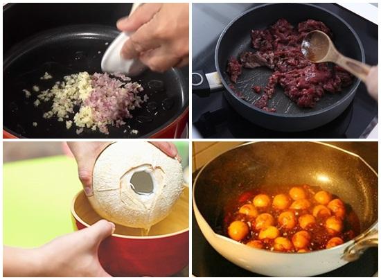 Cách nấu bò kho tàu hình 3