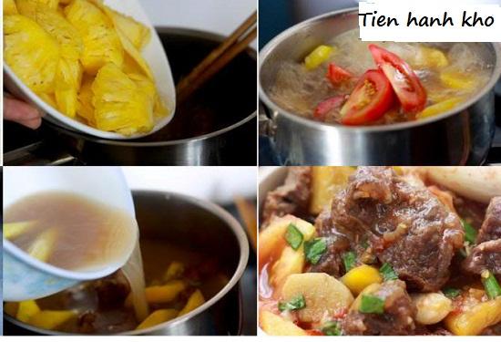Cách nấu bò kho thơm hình 3