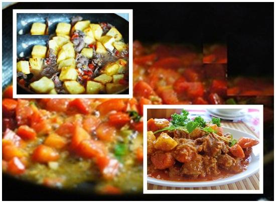 Cách nấu bò kho khoai tây hình 3