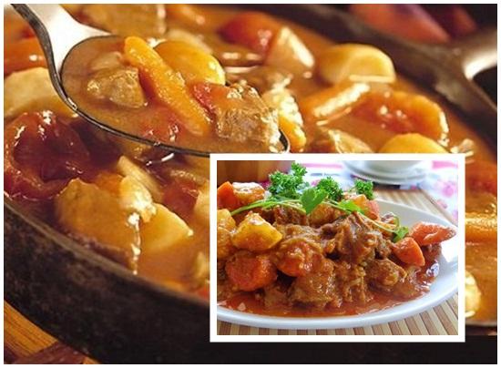 Cách nấu bò kho khoai tây hình 4