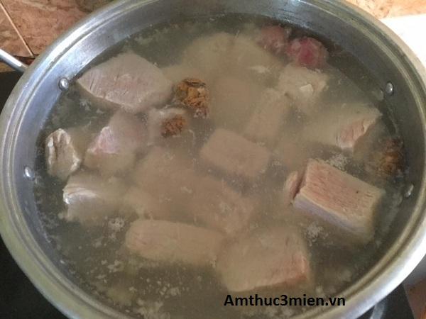 Cách làm chà bông thịt heo hình 3