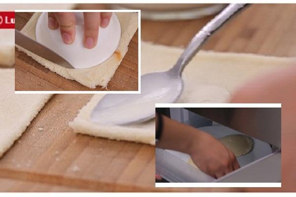 cách làm kem chiên hình 2