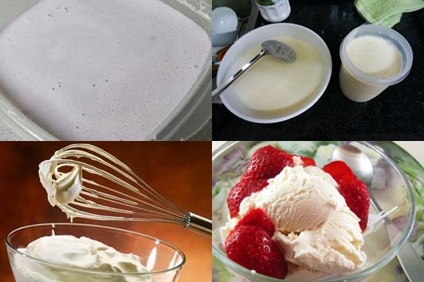 Cách làm kem sữa chua hình 4