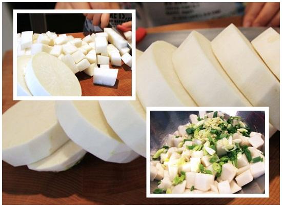Cách làm kim chi củ cải trắng hình 2