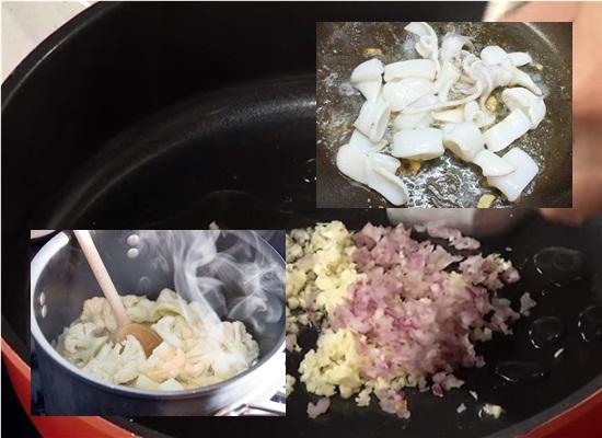 Cách làm mực xào súp lơ thơm ngon lạ miệng chuẩn vị hình 3