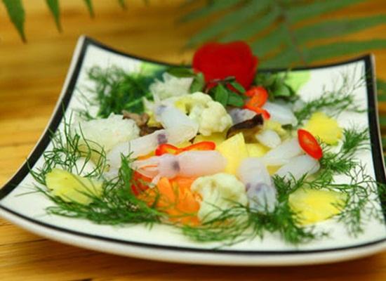Cách làm mực xào súp lơ thơm ngon lạ miệng chuẩn vị hình 4