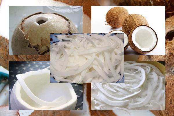Cách làm mứt dừa sữa ông thọ hình 2