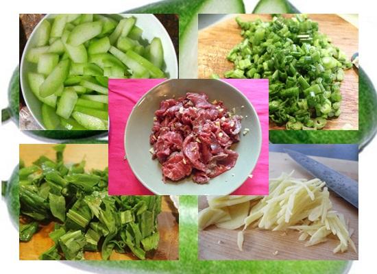 Cách nấu canh bí đao nấu thịt bò hình 2