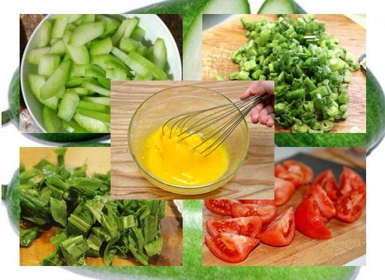 Cách nấu canh bí đao trứng hình 2