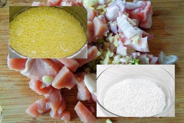 Cách nấu xôi cúc hình 2