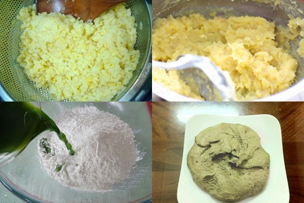 Cách nấu xôi cúc hình 3