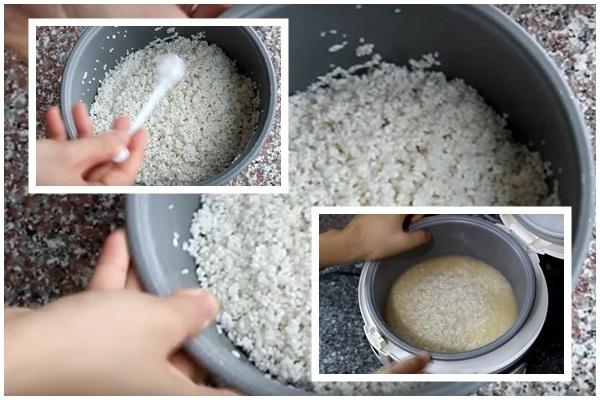Cách nấu xôi mặn hình 4