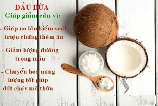 Ăn dầu dừa để giảm cân hình 2
