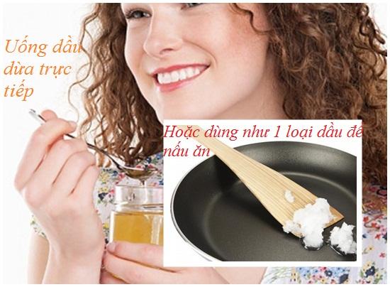 Ăn dầu dừa để giảm cân hình 3