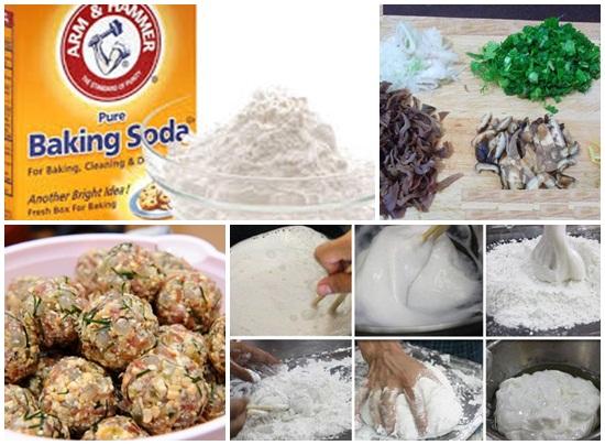 Cách làm bánh bao bằng baking soda hình 2
