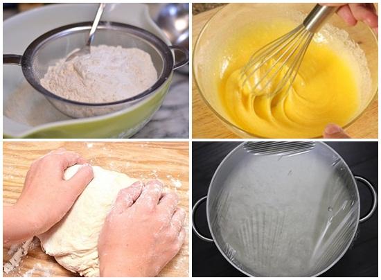 Cách làm bánh bao bằng bột khai hình 3