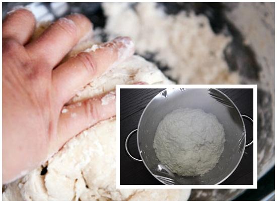 Cách làm bánh bao gạch cua hình 2