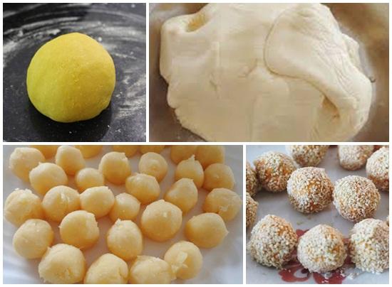 Cách làm bánh bao khoai lang vàng hình 3