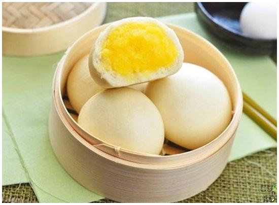 Cách làm bánh bao sữa trứng hình 1