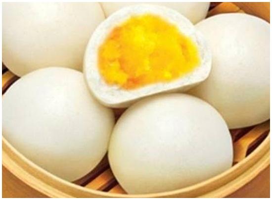 Cách làm bánh bao sữa trứng hình 5