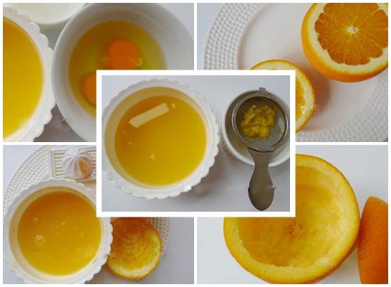 Cách làm bánh flan cam hình 2