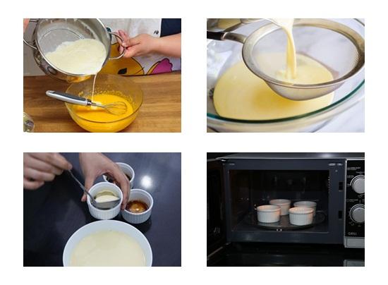 Cách làm bánh flan cho bé ăn dặm hình 3