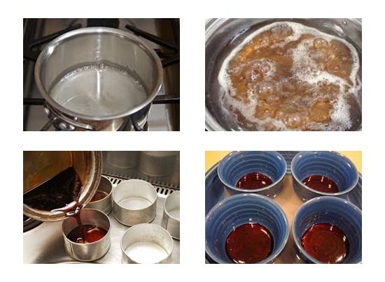 Cách làm bánh flan cho người ăn chay hình 3