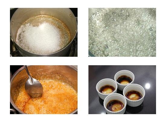 Cách làm bánh flan dâu hình 2