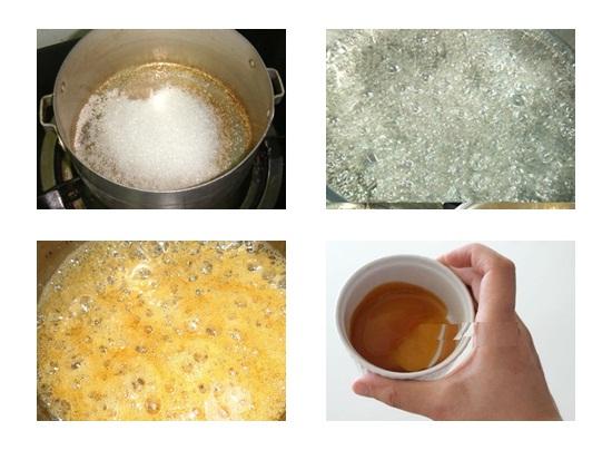 Cách làm bánh flan đậu nành hình 2