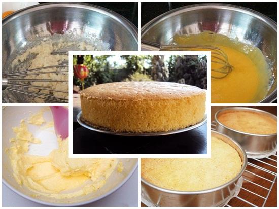 Sơ chế các nguyên liệu làm bánh gato