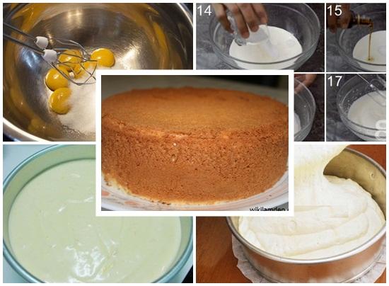 Cách làm bánh kem hai tầng hình 2