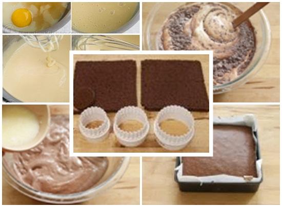 Chế biến phần bánh và các loại nguyên liệu khác