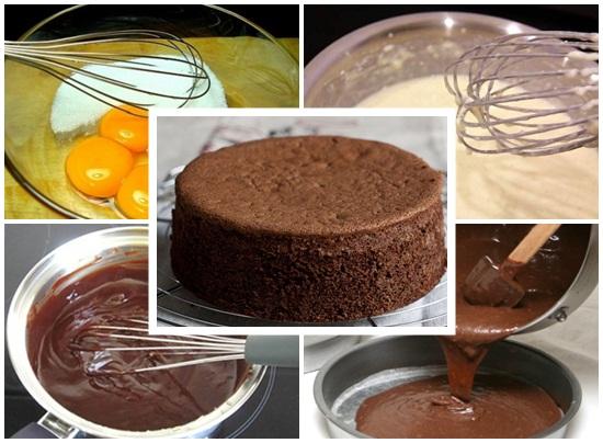 Cách làm bánh kem socola hình 2