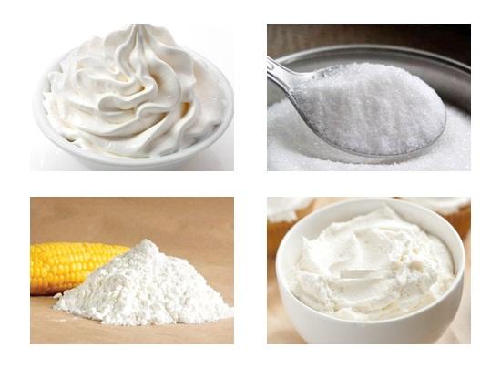 Làm phần kem dùng để phủ
