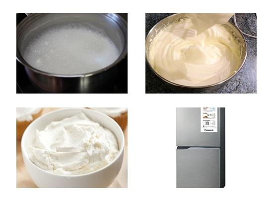 Cách làm bánh kem sữa tươi hình 3