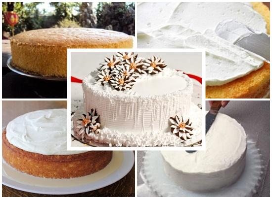 Cách làm bánh kem sữa tươi hình 4