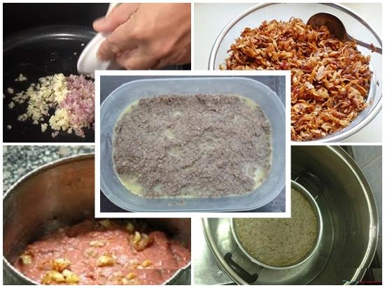 Cách làm bánh mì pate hình 4