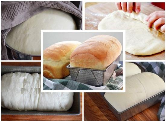 Ủ bột rồi nướng bánh mì