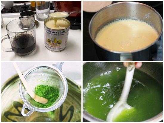 Cách làm bánh trung thu rau câu hình 3