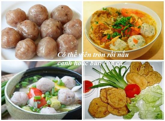 Món chả cá ngon và đơn giản tại nhà