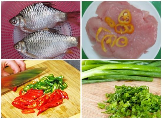 Cách làm chả cá mè hình 2